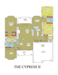 cypress floor plan color foreman builders