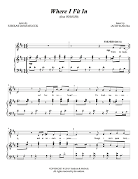 sheet music u2014 jacob yandura