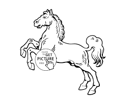 running animals coloring pages for kids printable free