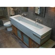 Bathroom Trough Sink Undermount by Sinks Interesting Double Trough Sink Double Trough Sink
