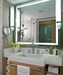 lighted mirrors for bathroom hotel bathroom lighted mirror bathroom mirrors ideas