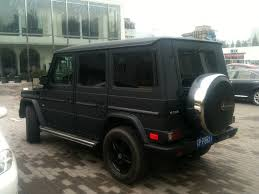matte black mercedes g class mercedes g500 is matte black in china carnewschina com