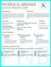 Culinary Resume Sample by Unique Cv Resume Design To Resemble A Restaurant Menu Format