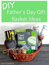 fathers day gift basket diy s day gift basket with dove men care savvy saving