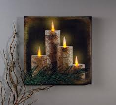 lighted canvas art with timer lighted canvas art pictures lighthouse park by radiance for candles