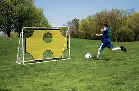3 in 1 soccer goal trainer mitre usa