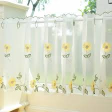 sunflower curtains window treatments eyelet curtain curtain ideas