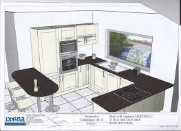 plan cuisine l plan cuisine l 4 cuisine en l plan plans de cuisine en l pour