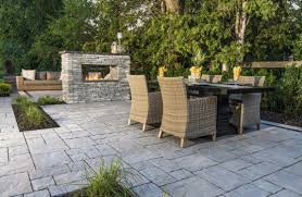 Patio Designs With Concrete Pavers Patio Design Ideas Using Concrete Pavers For Big Backyard Style