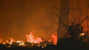 Auburn California Wildfire by At Least 10 Homes Destroyed So Far In Butte County U0027s Ponderosa