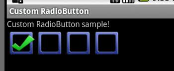 android radio button custom android radiobutton dev mind
