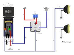defender puma fogdriving light switch pn yug000540lnf