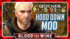 hoods haircutgame witcher 3 lowered hood mod for grandmaster feline cat schoool