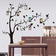 popular wallpaper tree with frame buy cheap wallpaper tree with 1set family picture photo frame tree wall stickers art decals diy wall mural wallpaper home decoration