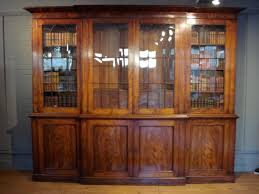 sold a magnificent 19th century 4 door glazed library bookcase