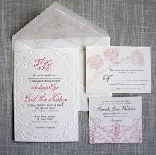 scroll invitation scroll letterpress wedding invitation scotti cline designs