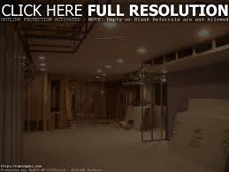 backyard creative basement lighting ideas home insight tips open