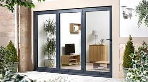 Bifolding Patio Doors Enchanting Bi Fold Glass Folding Patio Doors By Wall
