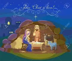 card of birth of jesus in bethlehem