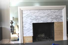 cup half full fireplace makeover