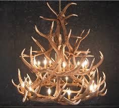 Deer Antler Light Fixtures Antler Chandeliers Lighting