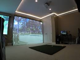 Home Golf Simulator by Home Golf Simulator Almost Complete Rebrn Com