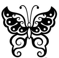 butterfly stencil designs