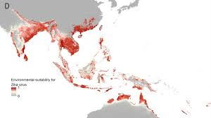 Map Of The Southeastern United States by New Map Finds 2 Billion People At Risk Of Zika Virus Nbc News