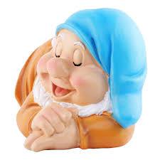 wonderland sleeping gnome dwarf for garden décor home