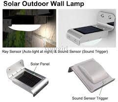 solar light wall solar wall lighting interior design