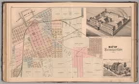Map Of Michigan State by Map Of Michigan City View State Prison Residence Of Jacob