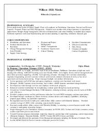 Operations Management Resume William Menke Sr Operations Manager Resume