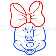 drawn amd minnie mouse pencil color drawn amd minnie mouse