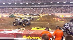 monster jam maximum destruction double backflip truck metlife nj 6