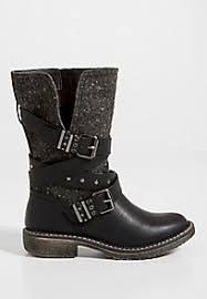 womens leather boots s boots faux suede and leather boots maurices