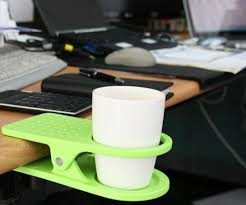 Table Cup Holder Us 0 3 0 8 Piece Plastic Table Coffee Cup Holder Clips Cup Holders