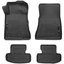 Husky Liner Floor Mats For Toyota Tundra by Husky Liners 99371 Mustang Front Rear Floor Liner Black Set Lhd 15 17