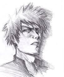 ichigo shading sketch by vimes da on deviantart