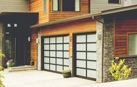 contemporary aluminum garage doors bay to bay garage doors