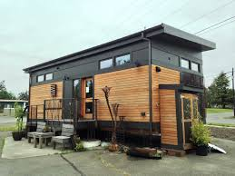 Modern Tiny Houses by A 450 Square Feet Pre Fab Home From Green Pod Development A