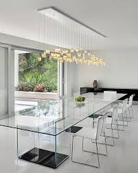 Glass Chandeliers For Dining Room Dining Room A Small Dining Room Drum Chandelier In A Minimalist