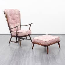 sessel 50er design 50er jahre sessel und ottomane l ercolani ercol