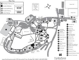 University Of Montana Campus Map by Franklin Pierce University Maplets