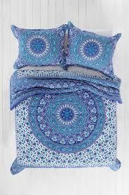 bedding set amazing bohemian hippie bedding orange navy blue