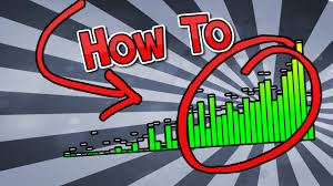 how to make an audio graph audio spectrum free online youtube