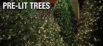 pre lit trees splash pools and spas