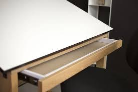 Alvin Onyx Drafting Table Alvin Titan Solid Oak Drafting Table Natural Finish 36