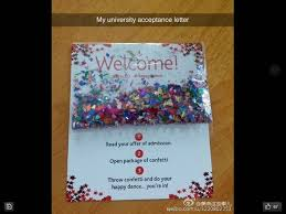 How Does College Acceptance Letter Look Like 18 Best Acceptance Letters Images On Freshman