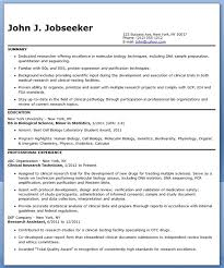 Sample Research Resume by Resume For Research Lab Technician Entry Level Creative Resume