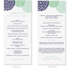 Example Of Wedding Programs The 25 Best Wedding Program Template Word Ideas On Pinterest